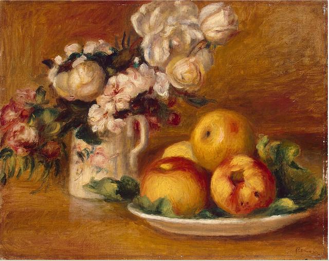 Renoir - Apples and flowers 1895-96