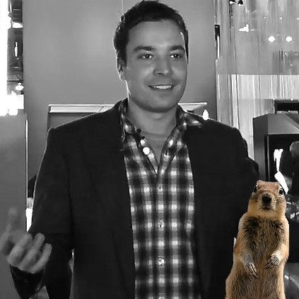 Jimmy Fallon and the Crasher Squirrel | by stevegarfield