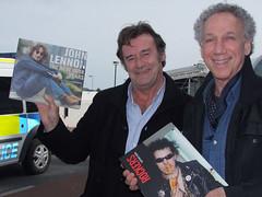 Dublin Airport again! Frank Murray & Bob Gruen | by bp fallon