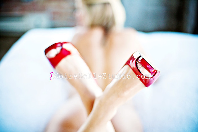 love me red shoes.