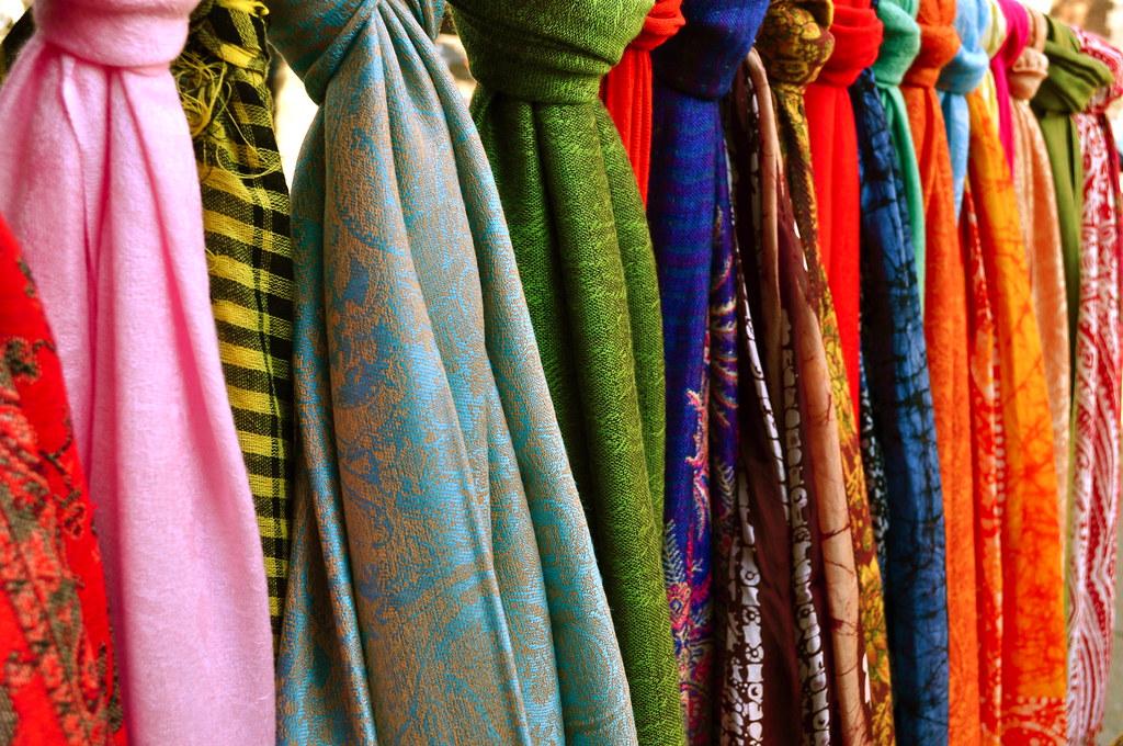 Image result for street shopping in thamel pashmina