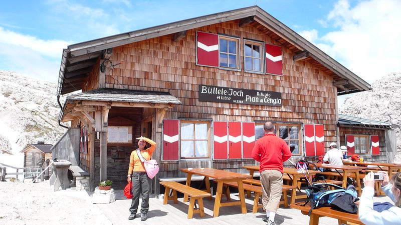 Die Büllelejoch-Hütte