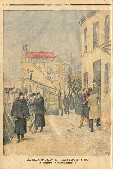Le petit journal 3 janv 1897 dos