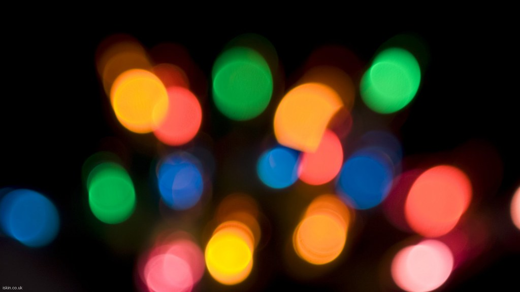 Full HD: Colourful Bokeh Glow | Desktop Wallpaper 1920x1080