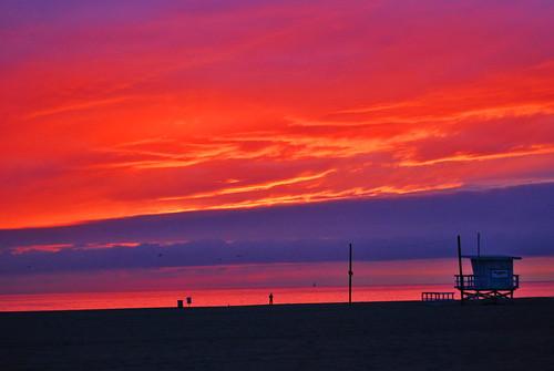 california travel sunset beach unitedstatesofamerica venicebeach 2007