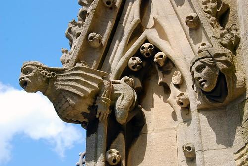 gargoyles, oxford   by hopemeng