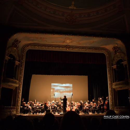 On the Screen @ The Portsmouth Symphony by Philip Case Cohen