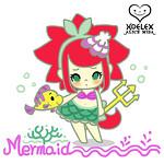 ALICE MISA心夢少女公仔-Mermaid小美人魚