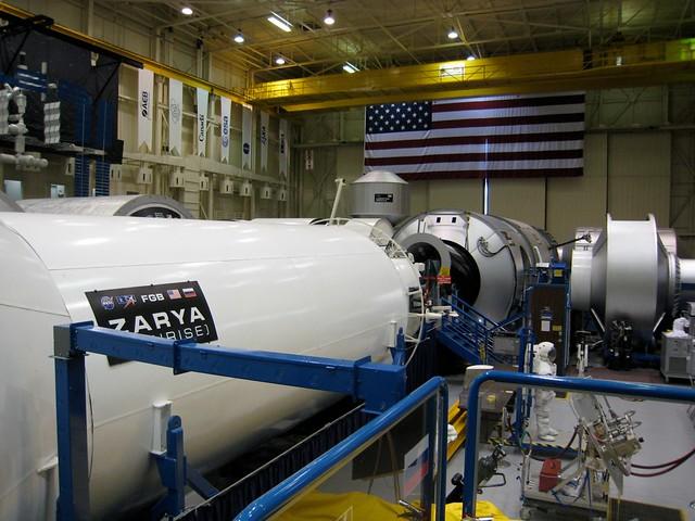 Zarya & ISS sims