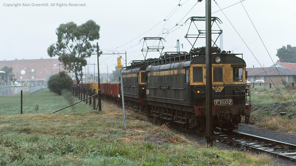 E1102 APM Siding 1977 by michaelgreenhill