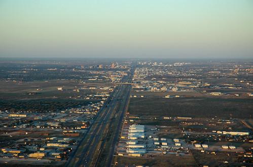 texas midland midlandcounty city aerial view