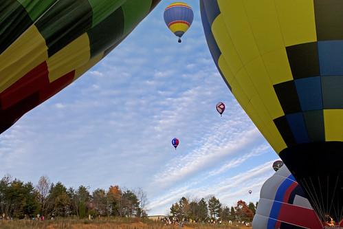 sky nc colorful balloon northcarolina bluesky hotairballoon takeoff balloonfestival statesville iredellcounty flickrdiamond carolinaballonfest davidhopkinsphotography