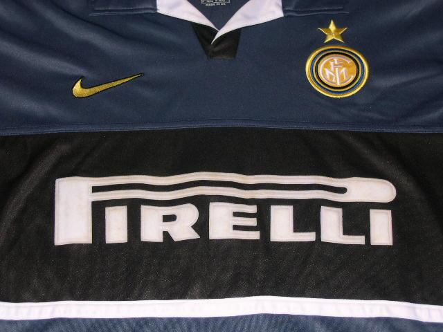 new arrivals 3113a fc99e 98/99 Inter Milan Champion League 3rd Away Jersey S/S #9 R ...