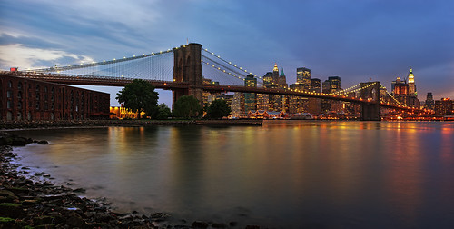 New York - Brooklyn Bridge Panorama | by Philipp Klinger Photography