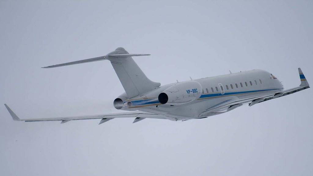 VP-BSC - SABIC - Bombardier BD-700-1A10 Global Express - L… | Flickr