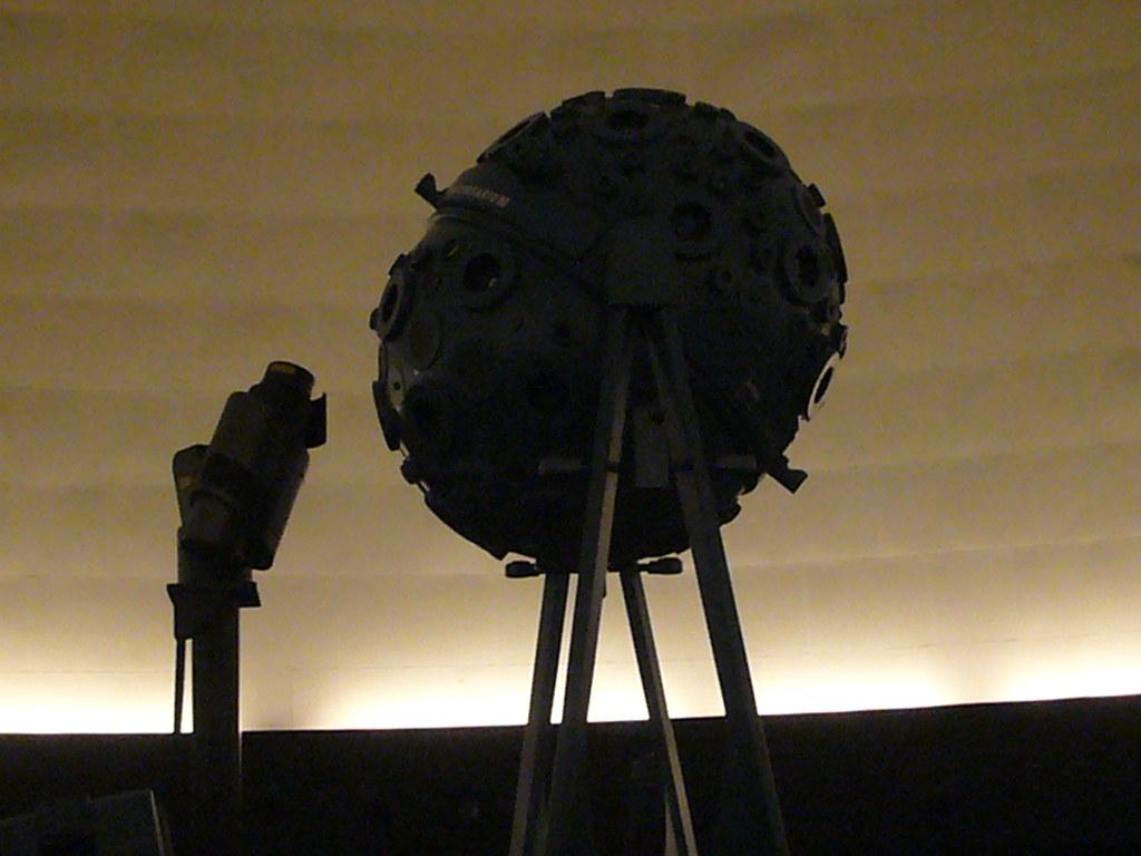 Projecteur du planétarium du Prater