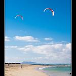 Kitesurfing, Corralejo, Fuerteventura