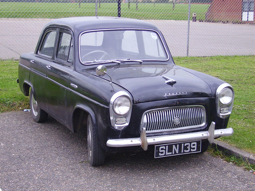 1956 Ford Prefect 100E | by Spottedlaurel