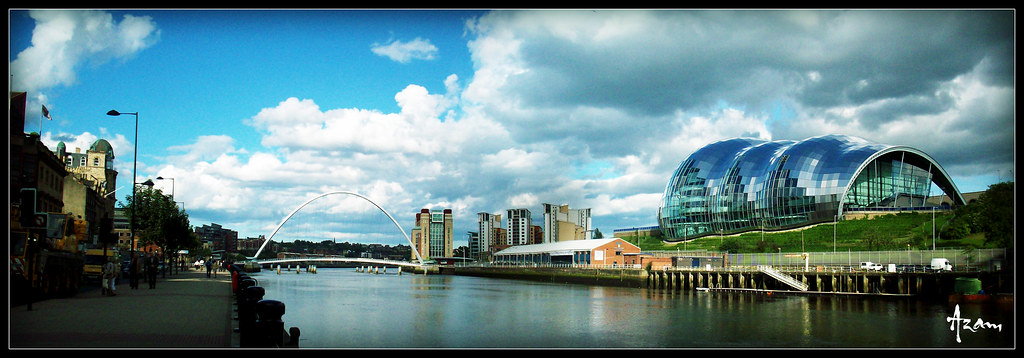 Millennium bridge newcastle newcastle upon tyne - Northumbria university swimming pool ...