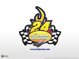 Jeff Gordon Network Logo | by sublmnldesign