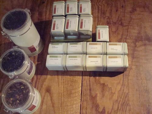 Adagio tea shipment | by emmajanehw