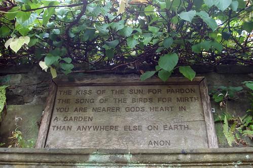 garden poem | by julie gibbons