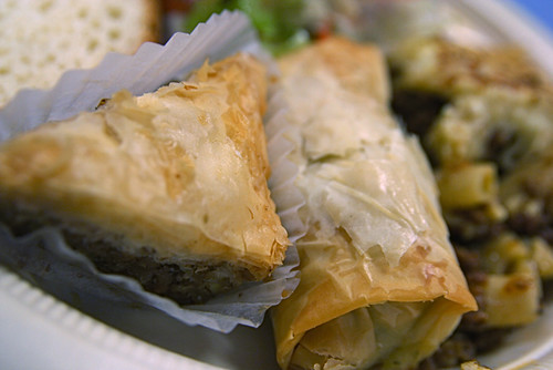 Spinach Pie and Baklava Greek Food 11-12-09 -- IMG_9556 | by stevendepolo