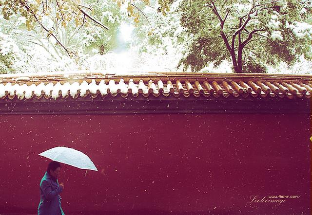 Beijingish snow