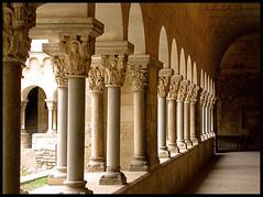 Claustre Monestir de Sant Cugat 2  by Lluïsa Palacio