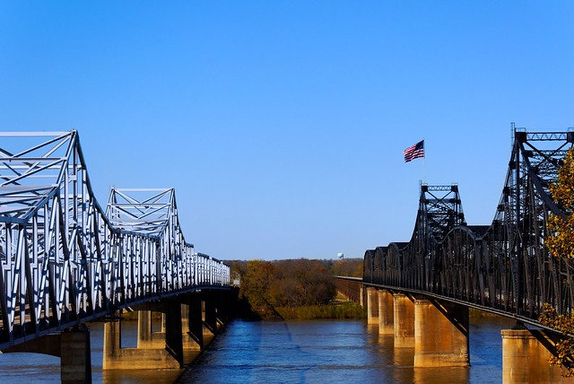 Mississippi River Bridges at Vickburg - #9446