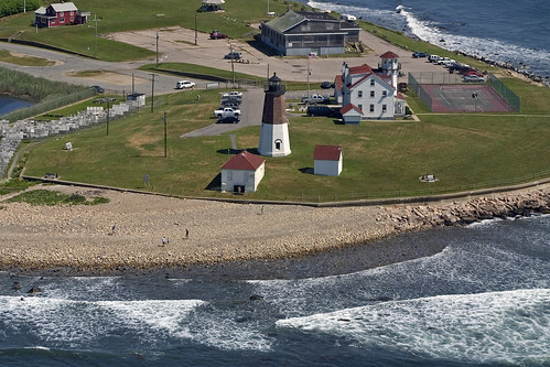 coastguard usa lighthouse aerial rhodeisland pointjudith coastguardstation narragansett pointjudithlighthouse pointjudithlight rhodeislandlighthouses rhodeislandlighthouse wbnawneri