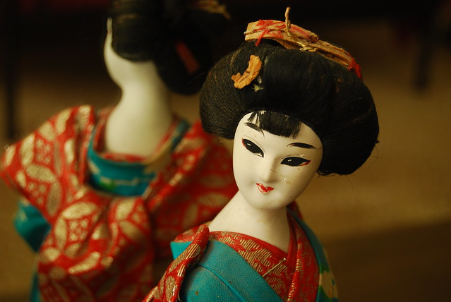 Old Geisha Doll