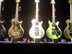 PRS Starla and Mira   by Guitar Player Magazine