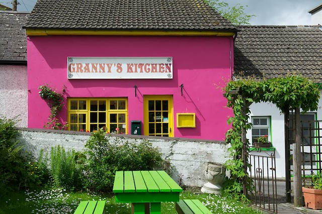 Granny S Kitchen At The Foot Of The Rock Of Cashel Joseph Flickr