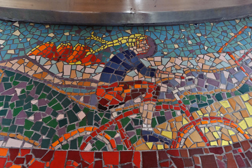 New Belgium Brewery Bicycling Mosaic | by goingslowly
