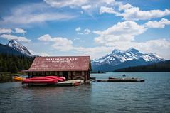 Maligne Lake: Boat House
