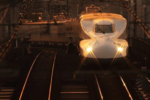 japanrailway train japon japan kyoto jr shinkansen n700aseries 新幹線 highspeedtrain superexpress traffic 鉄道 railroad jr東海 n700系 railway bullettrain nozomi のぞみ 日本 東海道新幹線