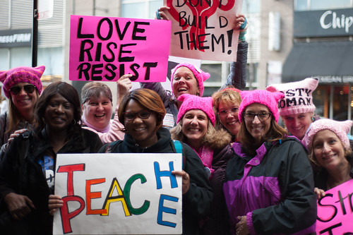 Women's March in Chicago | by ShutterRunner