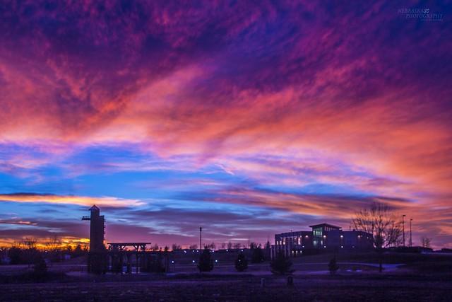 122016 - Incredible Nebraska December Sunset