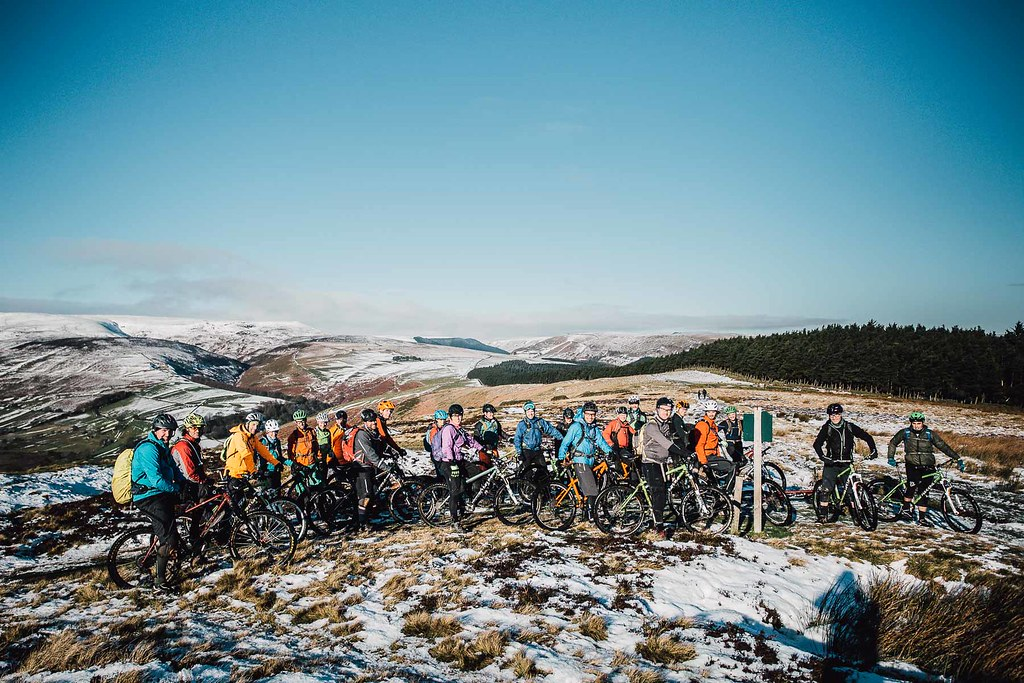 Cotic Bikes, Calver Demo Day