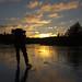 Sunset Lilla Holmevatten