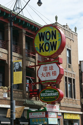 Chinatown sign | by thriftyknitter