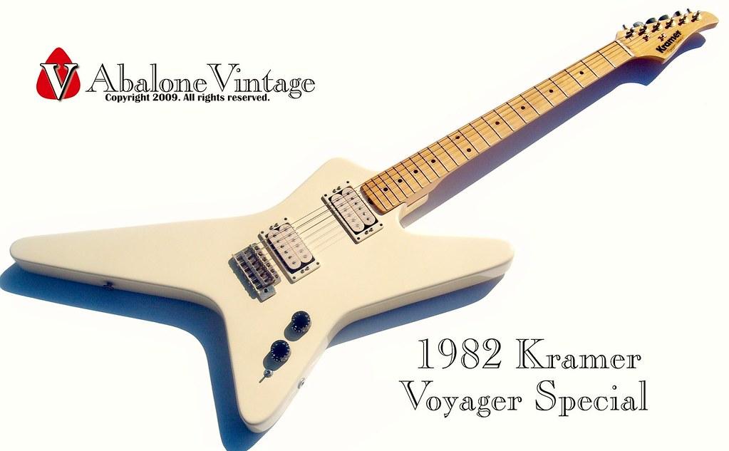 Vintage Kramer Guitar 1982 Voyager Special Eddie Van Halen Flickr