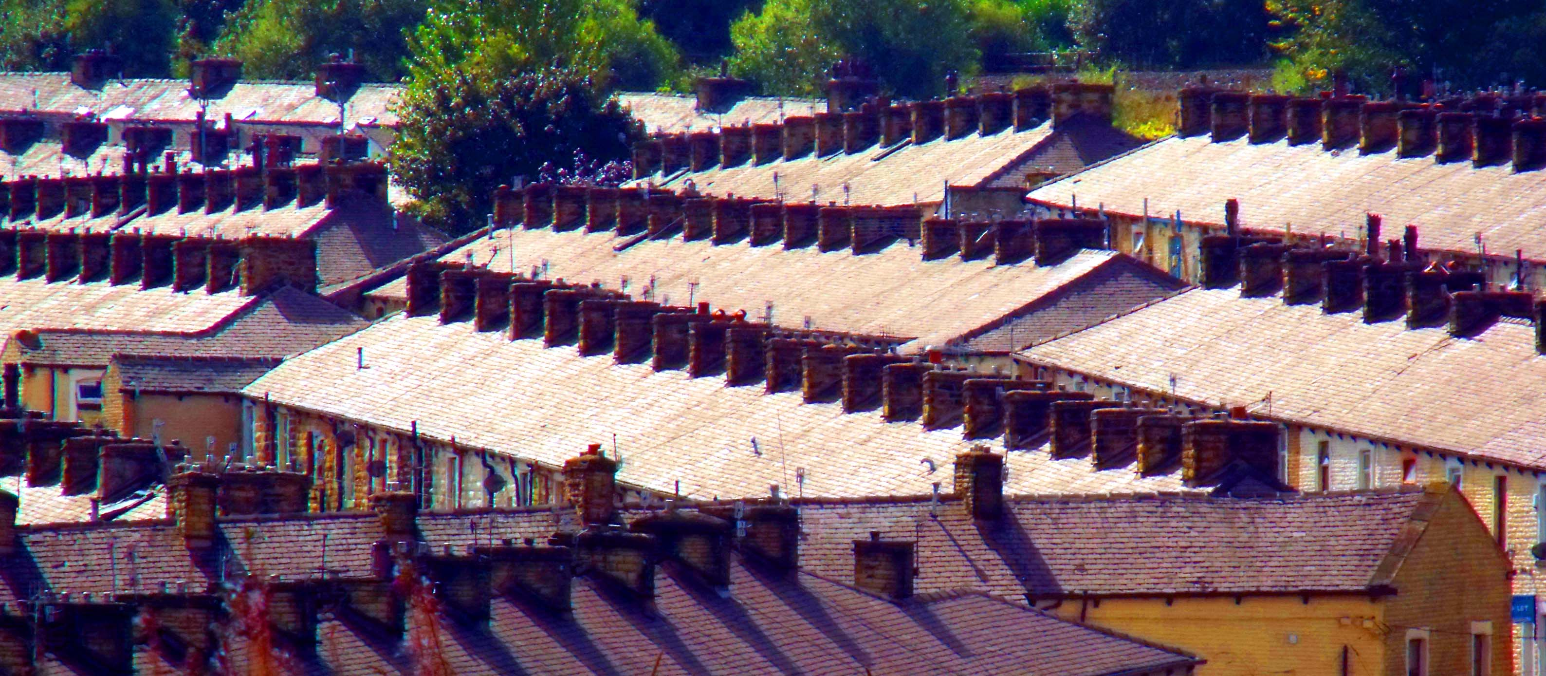 Burnley,roof,roofs,terrace,terraced,houses,lancs,lancashire,UK,England,old,365days,hotpix!