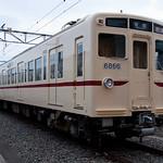 京王帝都電鉄6000系 6416F 臙脂帯 - 若葉台車両基地見学会
