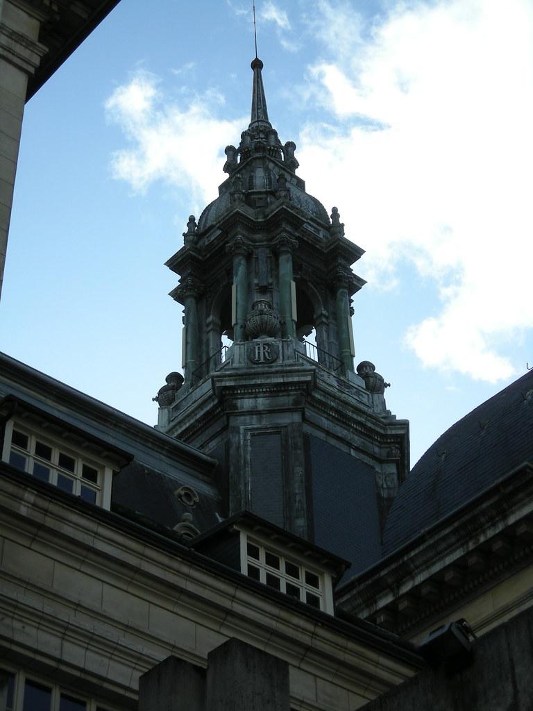 L'arrière de l'Hôtel de Ville