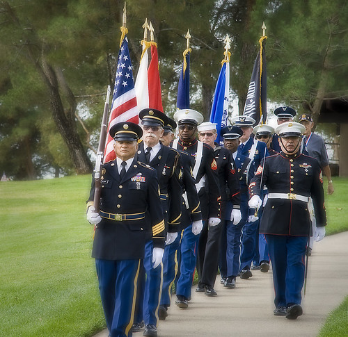 Veterans Day Ceremony | by Josh LeClair