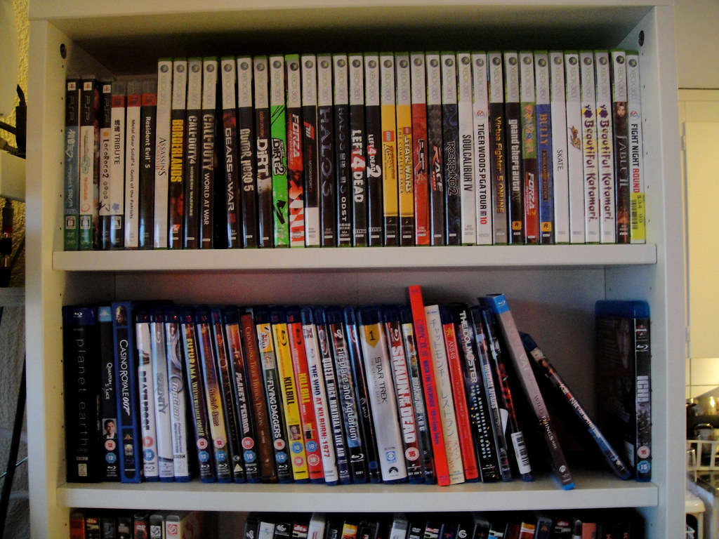Bluray & Games   Entertainment   hildgrim   Flickr