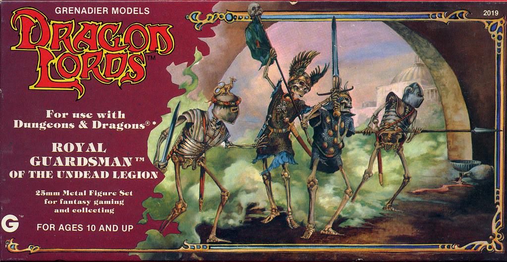 Fantasy Grenadier Art