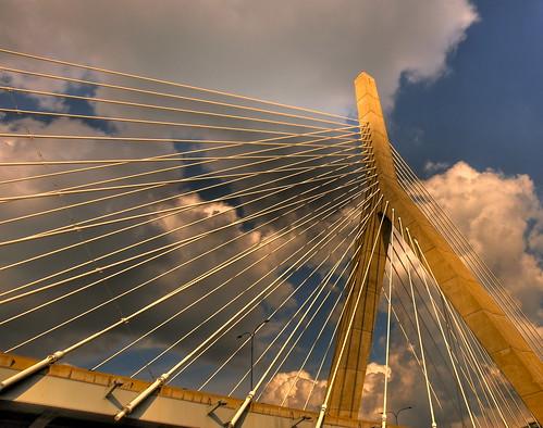 bridge sky clouds ma nikon massachusetts newengland hdr boson d90 leonardpzakimbunkerhillmemorialbridge nikond90 nikonflickraward imagesbyarden